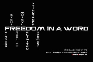 freedom wordation